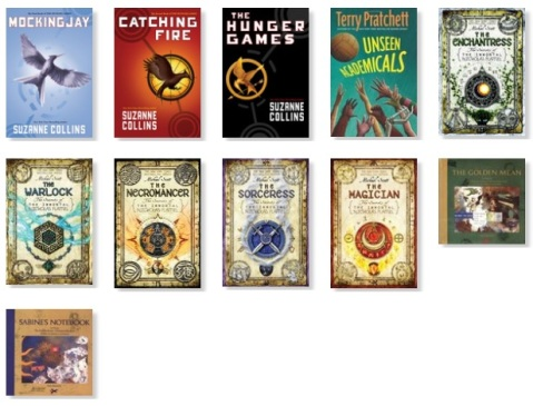 2013 Reading Challenge Books 1