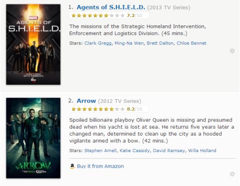 TV Watchlist 1 - IMDB