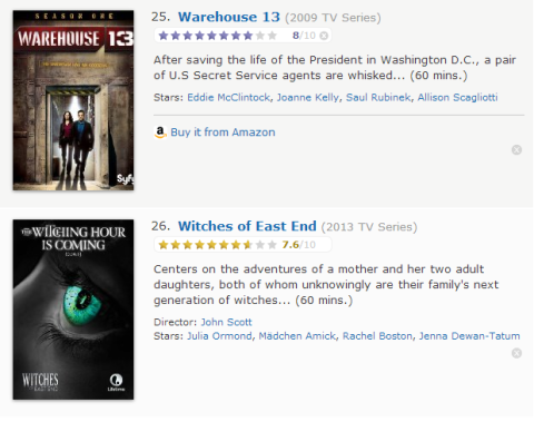 TV Watchlist 13 - IMDB