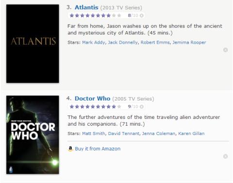 TV Watchlist 2 - IMDB