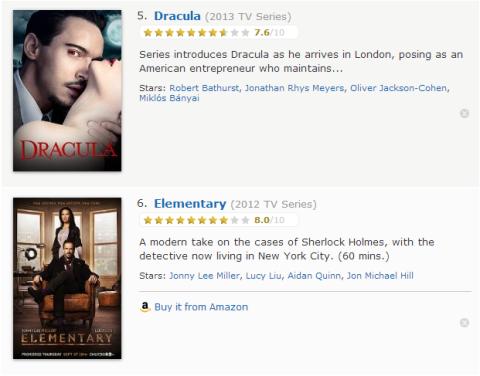TV Watchlist 3 - IMDB