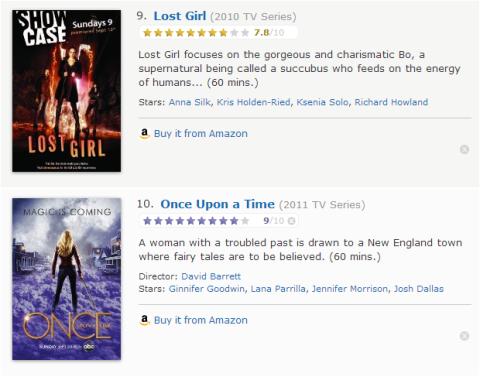 TV Watchlist 5 - IMDB