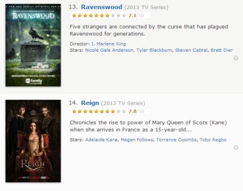 TV Watchlist 7 - IMDB