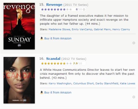 TV Watchlist 8 - IMDB