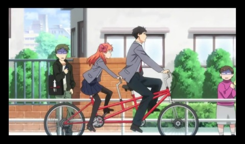 "Gekkan Shoujo Nozaki-kun Episode 1 ""This Love... Is Being Turned Into a Shojo Manga"""
